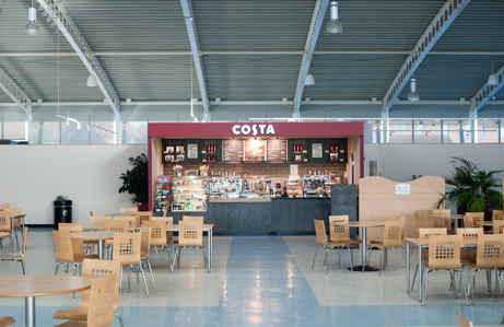 Costa Kiosk: HMS Collingwod