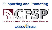 Certified food service professional