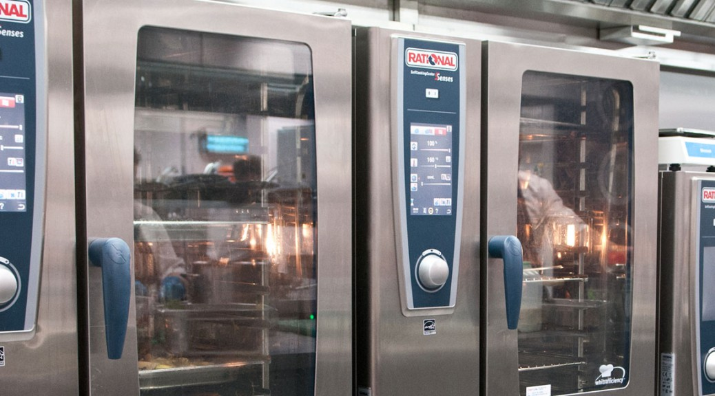 Rational combi oven installation