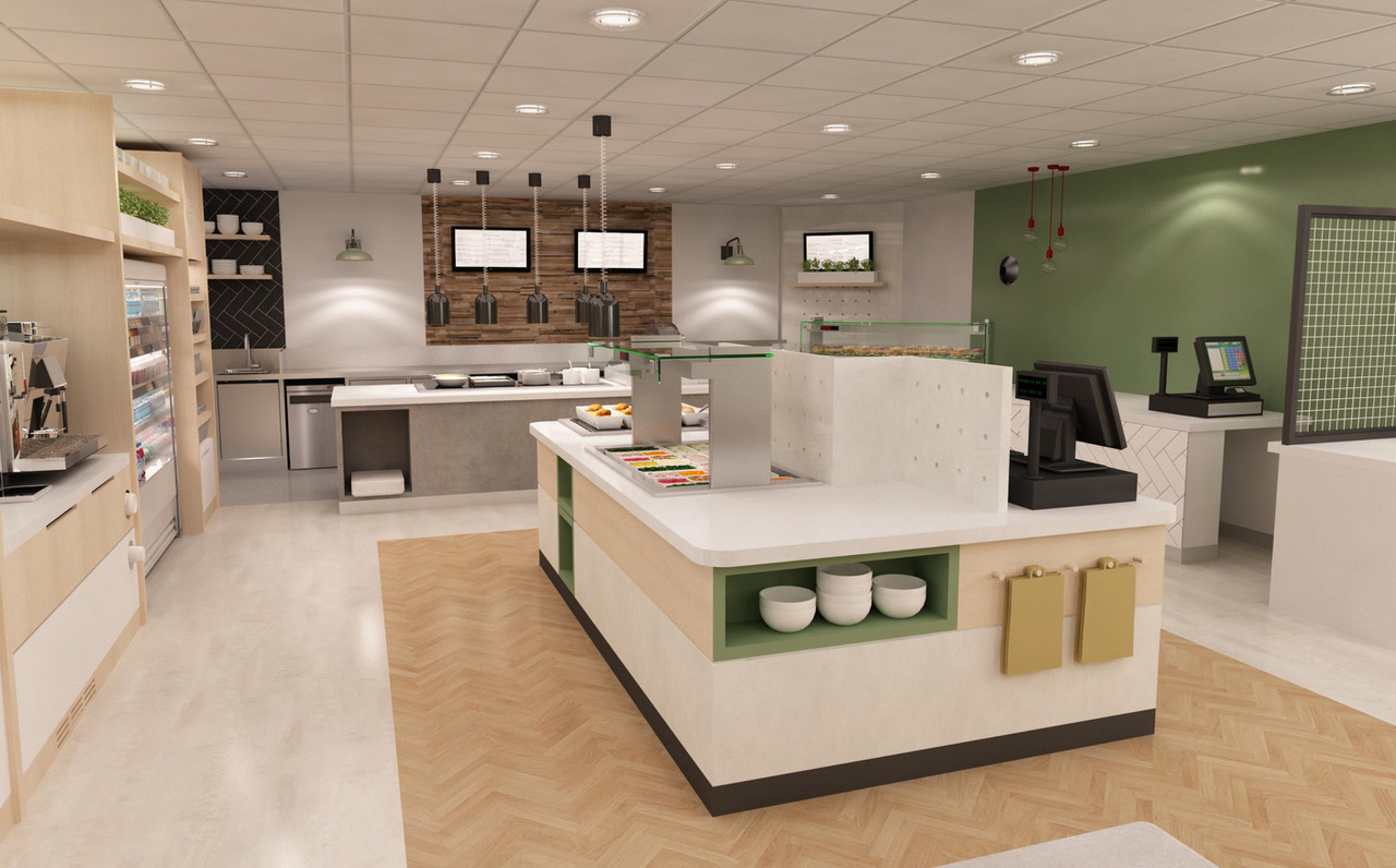 Hospital visitor catering